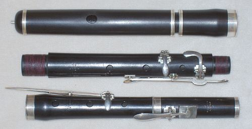 19th century French simple system flutes