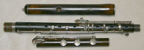 The 19th century simple system flute, I